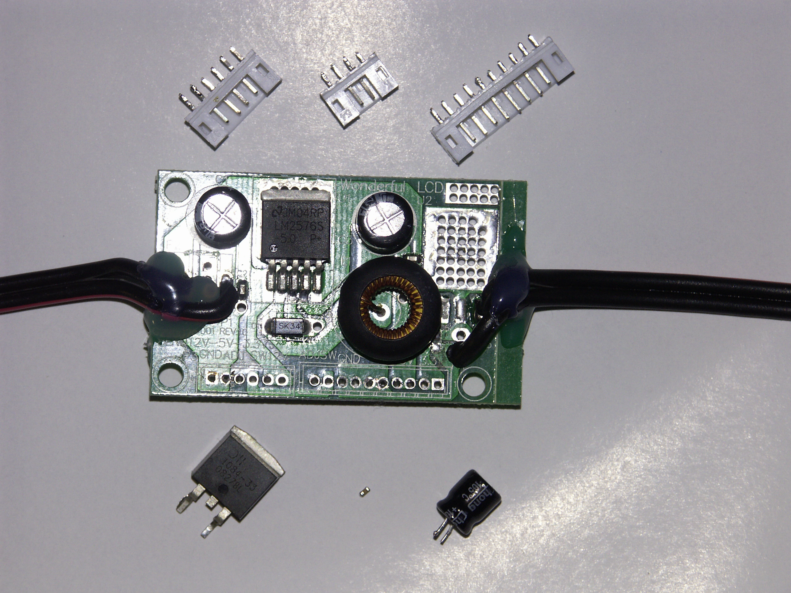 Benq Switching Power Supply Wiring Diagram Top View Of Pcb