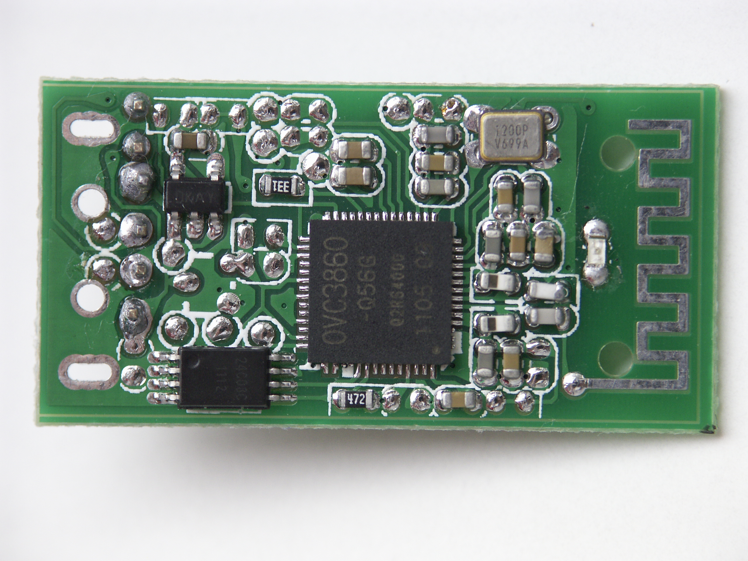 A2dp Bluetooth Audio Receiver Enjoy Bt Au01 Power Supply Circuit For Low Noise Top View Of Board