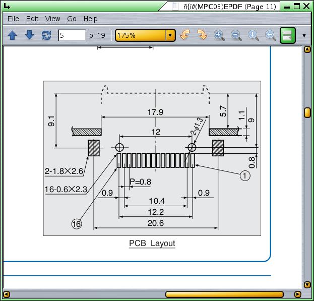 PDF → PCB → footprint conversion